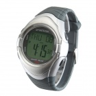 SPORTSTAR Multifunctional Heart Rate Monitoring Running Cycling Exercise Wristwatch - Black