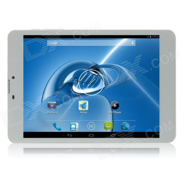 "SOSOON X79 7.85"" IPS Quad Core Android 4.2.2 3G Tablet PC w/ 1GB RAM, 8GB ROM, GPS - White"