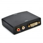 DVI / R/L to HDMI 1080P Audio Converter - Black