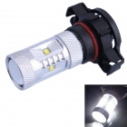 H16 30W 600LM 6500K 6xCree XB-D R3 White LED Foglight for Car (DC10-30V)