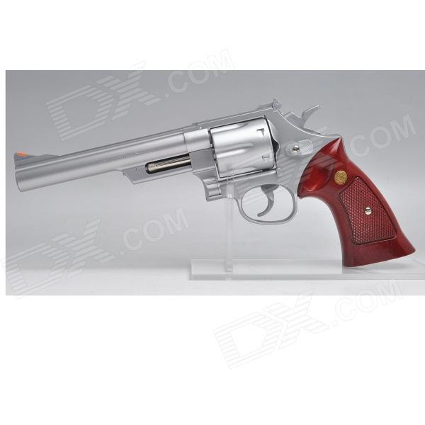 Buy Crown Model S&W M629 .44Magnum 8inch Silver Airsoft with Litecoins with Free Shipping on Gipsybee.com