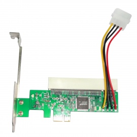 WBTUO-LPE1083-PCI-Express-to-PCI-Adapter-Card-Green