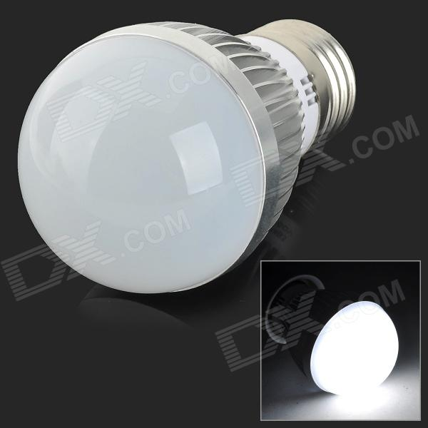 E27 3W 200lm 6-SMD 5730 LED Bulbo blanco frío (100 ~ 240V)