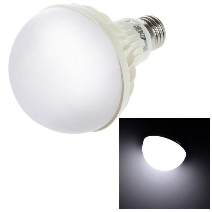 YouOKLight ADS-C9W E27 9W 550lm 15-SMD 5630 LED Cold White Bulb (220V)Leds<br>Form  ColorWhiteColor BINWhiteBrandYouOKLightModelADS-C9WMaterialPMMA + PCQuantity1 DX.PCM.Model.AttributeModel.UnitPower9WRated VoltageAC 220 DX.PCM.Model.AttributeModel.UnitConnector TypeE27Chip BrandOthers,SananEmitter TypeOthers,5630 SMDTotal Emitters15Theoretical Lumens750 DX.PCM.Model.AttributeModel.UnitActual Lumens550 DX.PCM.Model.AttributeModel.UnitColor Temperature12000K,Others,6400KDimmableNoBeam Angle180 DX.PCM.Model.AttributeModel.UnitPower9 DX.PCM.Model.AttributeModel.UnitRate VoltageAC 220VWorking Current- DX.PCM.Model.AttributeModel.UnitColor BINCold WhitePacking List1 x Bulb<br>