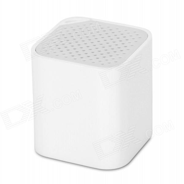 Mini 3-in-1 Anti-lost Self Timer Bluetooth V2.1 Speaker w/ Strap for IPHONE / IPAD - White