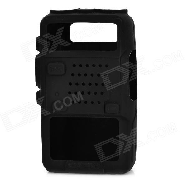 Buy Silicone Case for Baofeng 5R, 5RA, TYT, Quansheng, Puxing-Black with Litecoins with Free Shipping on Gipsybee.com