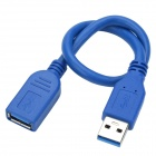 "USB 3.0 Male to SATA Female Adapter +Female Cable for 2.5"" Hard Disk"