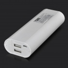 TOMO V8-2 5V double USB 6000mAh batterie Li-ion batterie pour IPAD / IPHONE / PSP - blanc