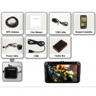 "Joyous 8"" HD Capacitive Android 4.2 Stereo Car DVD Player w/ GPS Navi for VW Passat, Seat, Skoda"