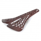 Hollow-out Plastic Bike Bicycle Saddle Seat - Brown