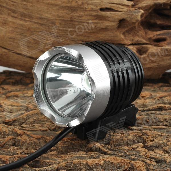 LetterFire 600lm 3-Mode White Light USB Bicycle Lamp w/ CREE XM-L T6