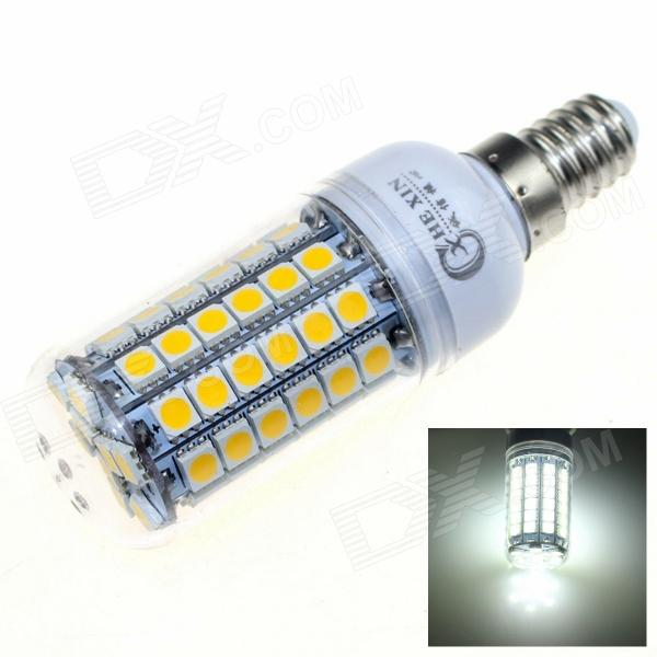 CXHEXIN E14 13W 6000K 840lm 69-SMD 5050 LED White Light - White
