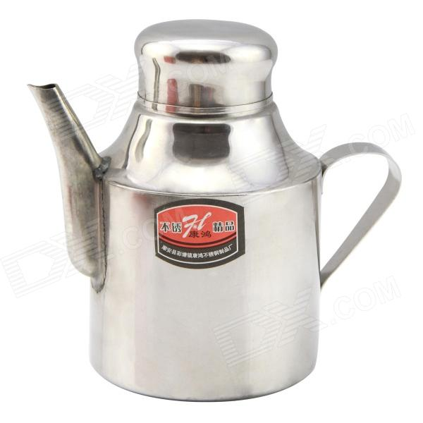 Thickening 304 Stainless Steel Vinegar / Soy Sauce Bottle Pot - Silver (18oz)Kitchen Gadgets<br>Form ColorSilverMaterial304 Stainless steelQuantity1 DX.PCM.Model.AttributeModel.UnitPacking List1 x Pot<br>