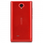 "NX SC7715 Android 4.4 WCDMA Bar Phone w/ 4.0"" Screen, Wi-Fi and GPS - Red"