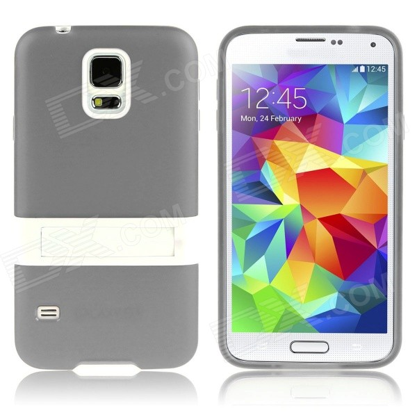 ENKAY Protective TPU Case w/ Stand for Samsung Galaxy S5 Mini G800