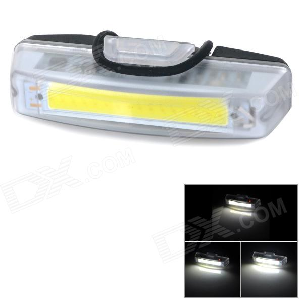 100lm 4-mode Rechargeable Front / Tail Lamp for Bike