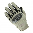 Men's Fashionable Outdoor Cycling / Riding Motorcycle PU Gloves - Sand (XL / Pair)