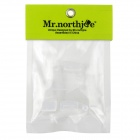 Mr.northjoe PC Case + Keyboard Cover + Anti-dust Plugs - Transparent