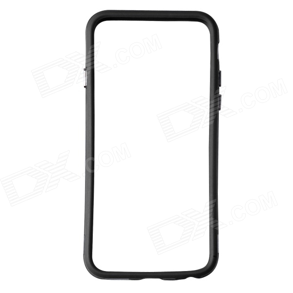 Protective TPU + PC Bumper Frame for IPHONE 6 - Black + Transparent
