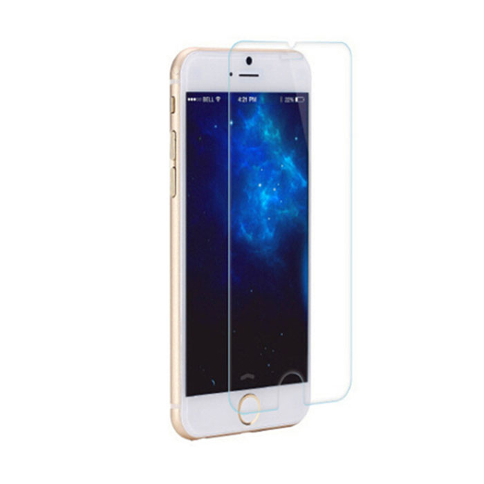 Tempered Glass Screen Protector for IPHONE 4.7 6 / 6S - TransparentScreen Protectors<br>Form  ColorTranslucent WhiteShade Of ColorWhiteQuantity1 DX.PCM.Model.AttributeModel.UnitMaterialGlassCompatible ModelsIPHONE 6FeaturesExplosion-proofStyleScreen protectorScreen FeaturesScratch ProofScreen TypeOthersPacking List1 x Screen guard1 x Alcohol cotton 1 x Wipe<br>