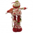 NEJE ST0006-1 Christmas Stretch Santa Claus Gift Snowman Doll - Red + Multi-Color