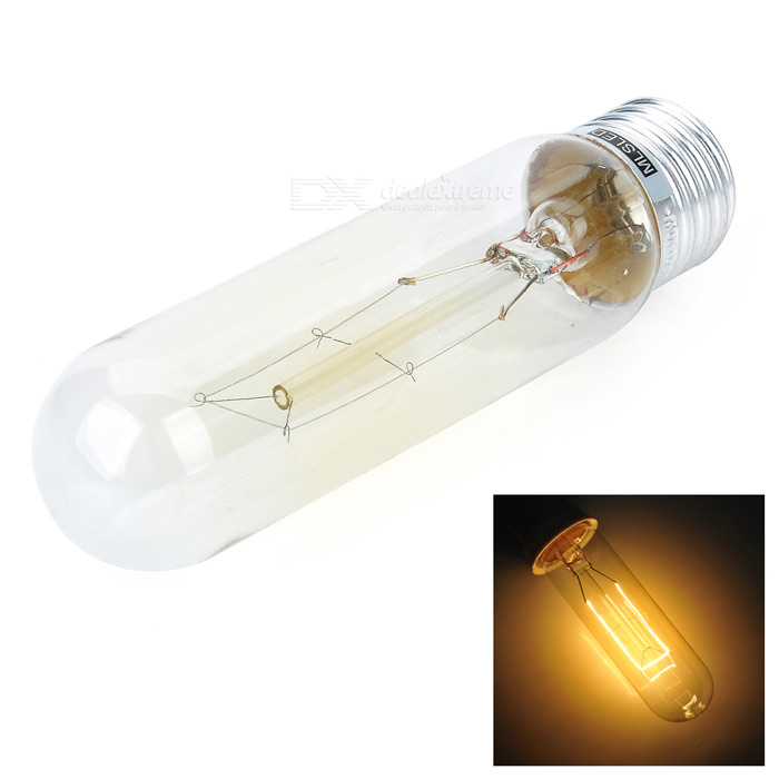 MLSLED MLX-T-25 E27 25W 100lm Warm White Tungsten Filament Bulb - Transparent (AC 230V)