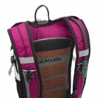 LOCAL LION Cycling Ultra Light Breathable Double Shoulder Bag Backpack - Purplish Red
