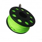 EZDIVE Scuba Diving Finger Spool w/ Double Ended Snap - Black + Green