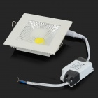 5W 450lm 3500K COB LED Warm White Light Ceiling Lamp - White + Silvery Grey (AC 90~265V)