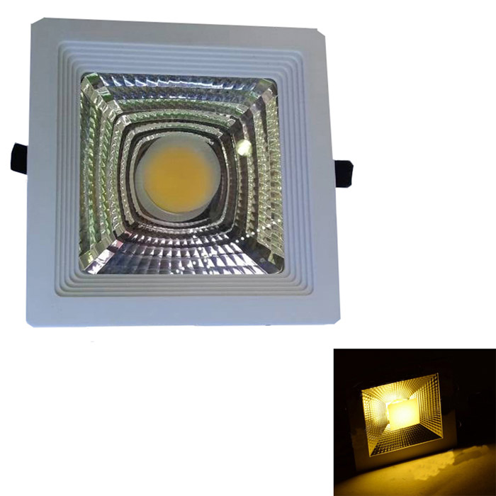 15W 1200lm 3500K COB LED Warm White Light Ceiling Lamp - White + Silvery Grey (AC 90~265V)Ceiling Light<br>Form  ColorWhite + Silver Grey + Multi-ColoredColor BINWarm WhiteQuantity1 DX.PCM.Model.AttributeModel.UnitMaterialAluminumPowerOthers,15WRated VoltageOthers,AC 90~265 DX.PCM.Model.AttributeModel.UnitChip Type15WEmitter TypeCOBTotal Emitters1Actual Lumens400~1200 DX.PCM.Model.AttributeModel.UnitColor Temperature12000K,Others,2700~3500KDimmableNoExternal Diameter18 DX.PCM.Model.AttributeModel.UnitHole diameter15.3 DX.PCM.Model.AttributeModel.UnitHeight3 DX.PCM.Model.AttributeModel.UnitPacking List1 x Ceiling lamp1 x Power supply (42cm-cable)<br>