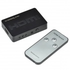 CHEERLINK 3-in-1-out 3D mini-HDMI 1.4a switcher - noir (1 * CR2025)