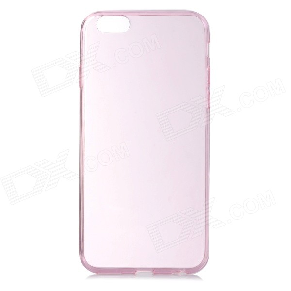 Protective Ultrathin Silicone Back Case for IPHONE6 - Translucent PinkSilicone Cases<br>Form  ColorTranslucent PinkBrandN/AQuantity1 DX.PCM.Model.AttributeModel.UnitMaterialSiliconeShade Of ColorPinkCompatible ModelsIPHONE 6DesignSolid Color,TransparentStyleBack CasesOther FeaturesProtects the cell phone from dust, shock and scratches.Packing List1 x Back case<br>