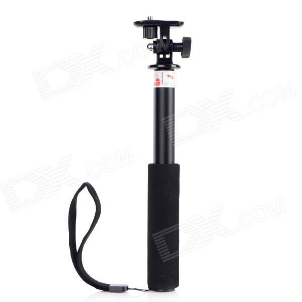 GPE Retractable 3-Section Handheld Monopod w/ Mount Adapter for Gopro Hero 4/ 2 / 3 / IPHONETripods and Holders<br>Form ColorBlackBrandGPEModelN/AMaterialAluminum + plasticQuantity1 DX.PCM.Model.AttributeModel.UnitTypeMonopodRetractableNoScrew Size1/4 adapterMin.Height24.5 DX.PCM.Model.AttributeModel.UnitMax.Height74.5 DX.PCM.Model.AttributeModel.UnitMax.Load2000 DX.PCM.Model.AttributeModel.UnitSection Number4Other FeaturesSuitale for all digital cameras, such as GoPro HD Hero2 Hero3, IPHONE, Samsung.Packing List1 x Monopod1 x Thumb knob1 x Clip<br>