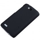NILLKIN Matte Protective PC Back Case for Huawei Honor 3C Play Edition - Black