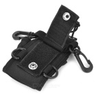 Nylon Walkie Talkie Case for Baofeng UV-5R,UV-5RA,UV-5RE,UV-5RB -Black