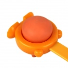 Manually Hammering Dual Side Body Massager - Orange + Yellow