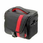 nylon FF066-RD Grande Taille SLR Camera Bag-Rouge