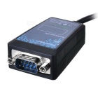 IOCREST RS-232 USB 2.0 to Serial Converter w/ LED - Black (100cm)