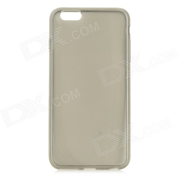 Protective TPU Back Case Cover for IPHONE 6 PLUS - Translucent BlackSilicone Cases<br>Form  ColorTranslucent BlackQuantity1 DX.PCM.Model.AttributeModel.UnitMaterialTPUShade Of ColorBlackCompatible ModelsIPHONE 6 PLUSDesignTransparentStyleBack CasesOther FeaturesProtect your device from scratches, dust and shockPacking List1 x Back case<br>