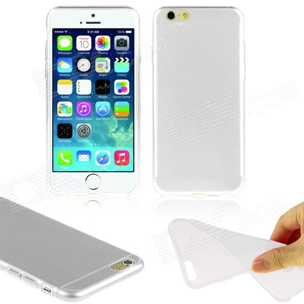 "Hat-Prince Ultra-thin Protective TPU Soft Back Case for IPHONE 6 PLUS 5.5"" - Translucent White"