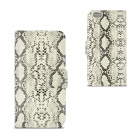 Angibabe Snake Skin Pattern Flip-open PU Leather Case with Card Slots for IPHONE 6 4.7""