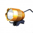 KINFIRE U2 4.2~12V DIY 600lm 3-Mode White Bicycle Car Motorcycle Lamp w/ CREE XM-L T6 - Yellow