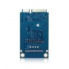 MPCE2U-R01 MINI PCI-E to USB 3.0 / MPCIE to Front 20/19-Pin Extension Adapter Card - Blue