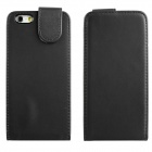 "ENKAY Protective Top Flip Open PU Leather + Plastic Case for IPHONE 6 4.7"" - Black"