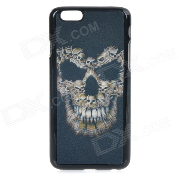3D Skull Patterned Protective Back Case Cover for IPHONE 6 4.7 - BlackPlastic Cases<br>Form  ColorBlackShade Of ColorBlackBrandN/AModelN/AQuantity1 DX.PCM.Model.AttributeModel.UnitMaterialABS + PC + PET rasterCompatible ModelsIPHONE 6DesignMixed Color,Graphic,3DStyleBack Cases,Full Body CasesOther FeaturesAmazing 3D effect; Fine workmanship; Durable and convenient to use; Protects your device from scratches and shock.Packing List1 x Case<br>