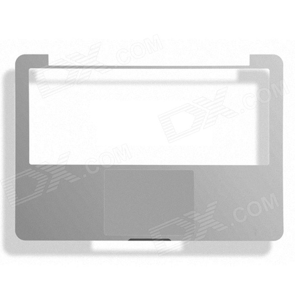 "OUSHINE Protective Wrist Rest Membrane + Trackpad Sticker Film for 15.4"" MACBOOK PRO - Silver"