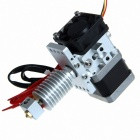 Geeetech GT8S 3D Printer Extruder Metal J-Head Nozzle - Silver (1.75mm Filament / 0.4mm Nozzle)