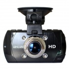 Ambarella A7 HD 18MP 1080p 60fps CMOS 170 Wide Angle Night Vision Car DVR Camcorder - Black