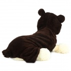 Halloween Panda Style Cotton Coat for Pet Cat / Dog - Deep Coffee (Size XL)