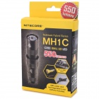 NITECORE MH1C 550lm 4-Mode Cool White Light LED Rechargeable Tactical Flashlight (1 x RCR123A)